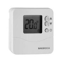 Termostato baxiroca td200 termostato digital programable for Baxi termostato ambiente