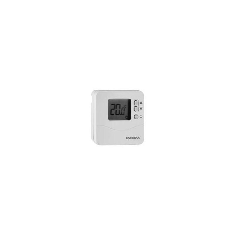 Termostato baxiroca td200 termostato digital programable for Termostato digital calefaccion programable