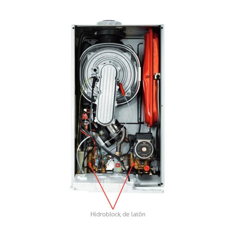 Baxi platinum compact eco 24 24 f caldera gas condensaci n for Baxi eco compact