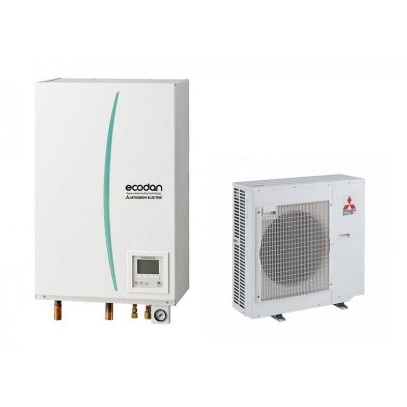 Mitsubishi ecodan puhz sw75vka ehsc vm2c calefacci n por for Calefaccion por aerotermia
