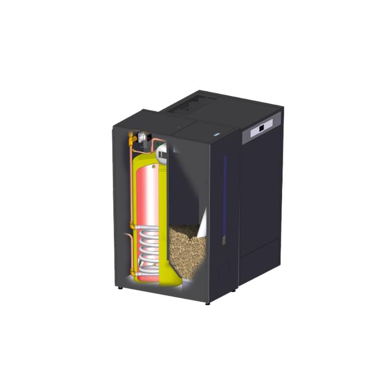Caldera pellets agua y calefacci n precio oferta - Calefaccion pellets opiniones ...
