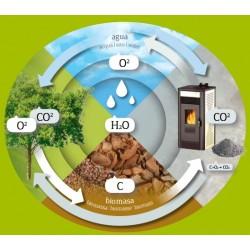 Proceso biomasa estufas Lasian Erta Plus