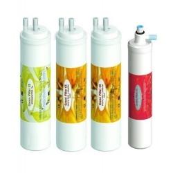 Set de 4 filtros CS  para equipo de ósmosis compacta