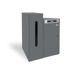 Caldera de Biomasa  mixta ( Calefacción + Agua Caliente Sanitaria)