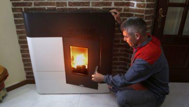 Mantenimiento de una caldera de biomasa